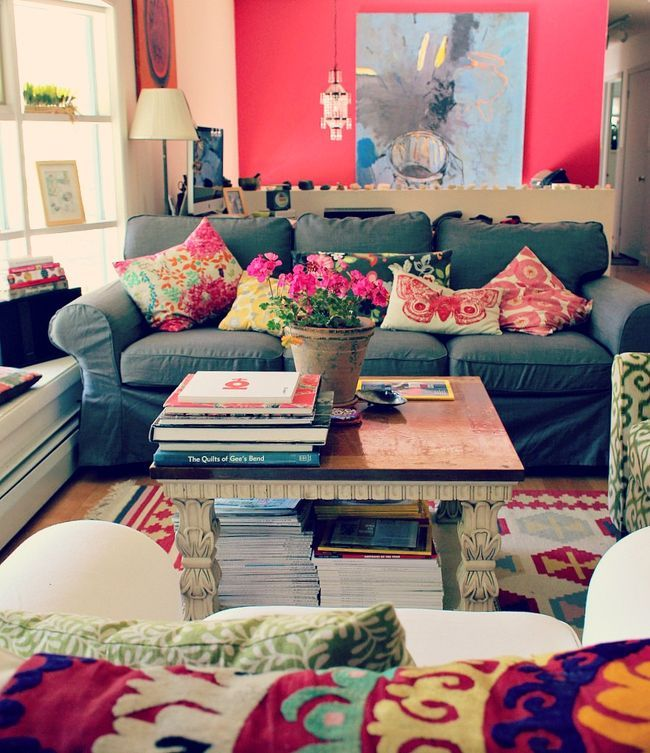 21 best images about best of apartment on pinterest for Arredamento colorato