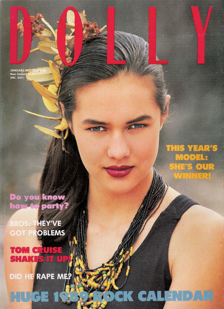 Dolly January 1989 | Natalie Kirk (Covergirl Winner)