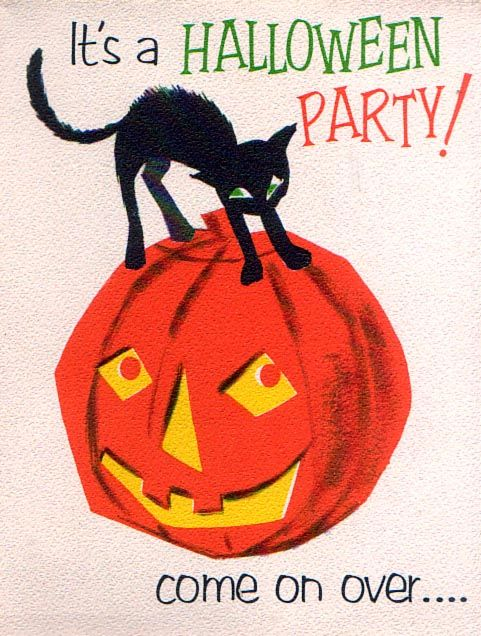 and everything else too: Vintage Halloween Cards II