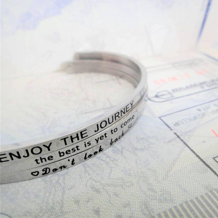 Enjoy the journey ❤ Positive Vibes Bracelets. Link in bio @munkberryofficial