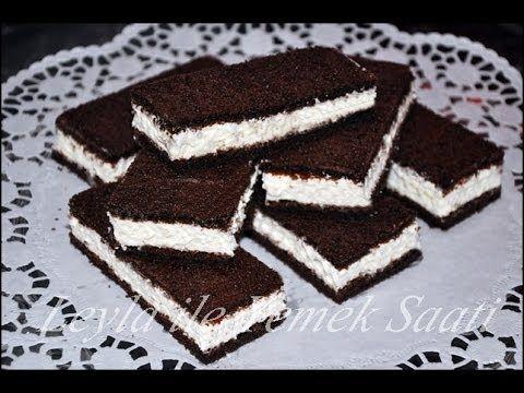 Süt Dilimi Tarifi - Milchschnitte Rezepte - Leyla ile Yemek Saati