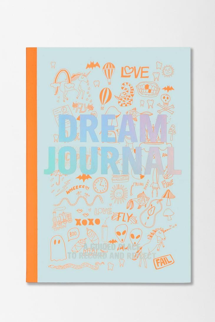 A journal you record your dreams in