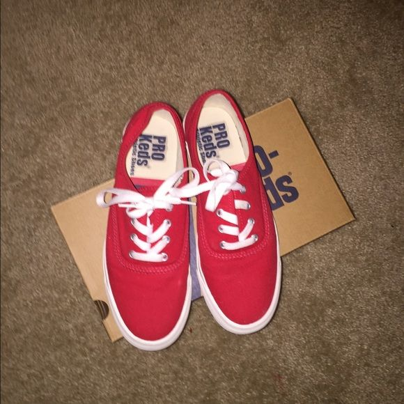 Pro Keds, brand new.. Only worn like two times Red Pro Keds size 7, brand new Pro Keds Shoes Sneakers