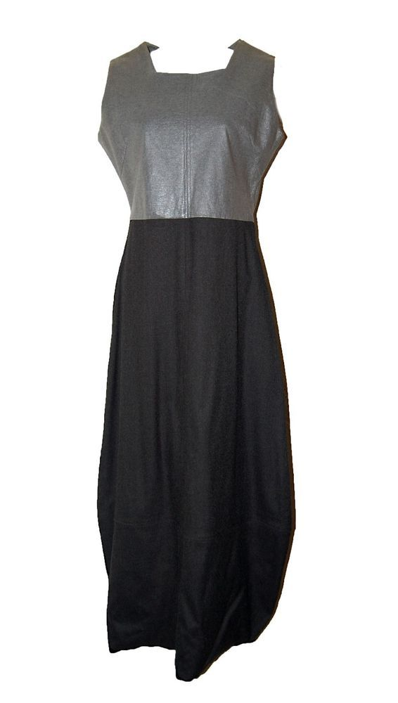 The Ultimate Sin Long Woman's Black And Gray Dress Size Medium GOOD CONDITION #TheUltimateSin #Formal