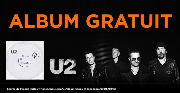 Album de U2 Gratuit : Song of Innocence (Apple)