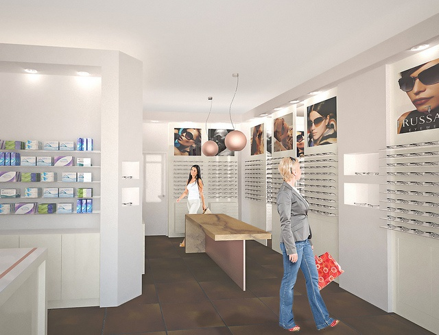 Optical store (3/4)  A project I made in collaboration with and for Equipe S.r.l