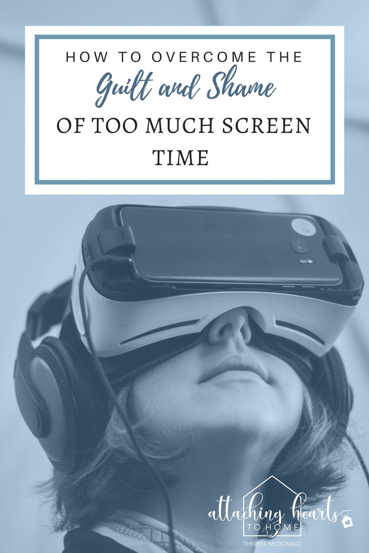 "How to Overcome the Guilt Attached with ""Too Much Screen Time"""