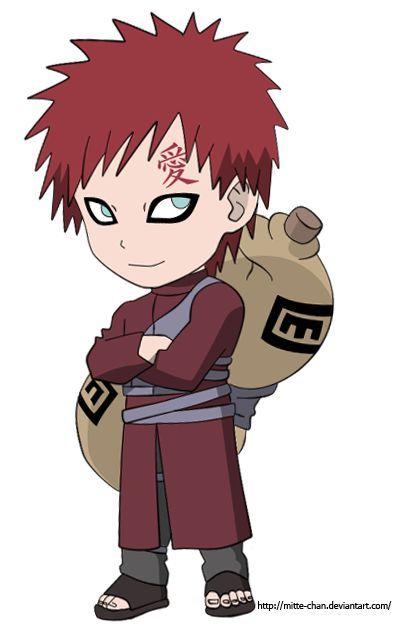 naruto gaara chibi - Google Search   Naruto cliparts ... Gaara And Naruto Chibi