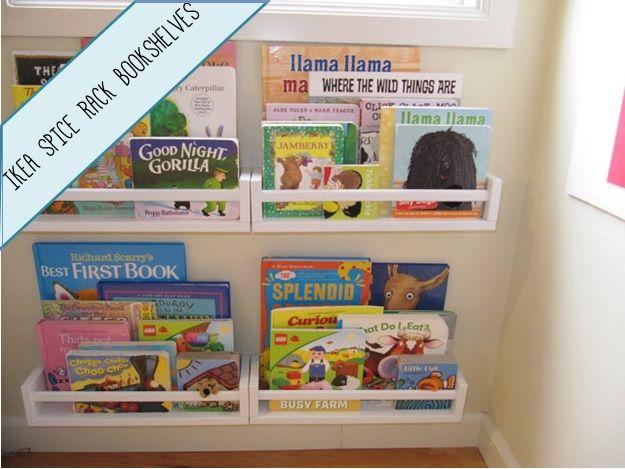25+ Best Ideas About Spice Rack Bookshelves On Pinterest