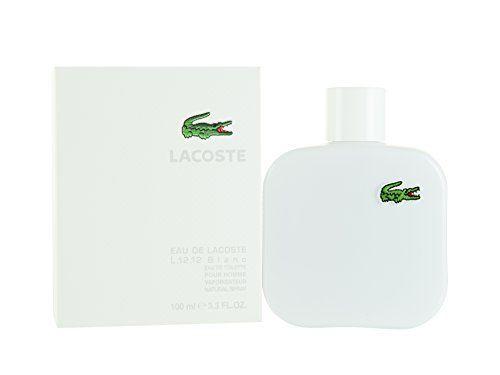 Lacoste Eau De Lacoste L.12.12 Blanc Men Eau-de-toilette Spray by Lacoste, 3.3 Ounce Lacoste List Price: $89.99 Price: $40.50 & FREE Shipping. Details You Save: $49.49 (55%) http://www.amazon.com/dp/B004STJ0UU/ref=cm_sw_r_pi_dp_Au4pub198XRB8