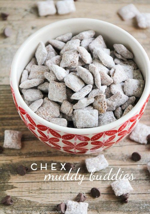 Chex Muddy Buddies! Perfect snack for parties!