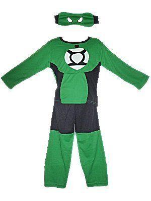 Kids Fancy Dress The Green lantern Costume. Three Piece Set, Top, Trousers and Mask. Age 4-5 Years. Doo Lim http://www.amazon.co.uk/dp/B00EP0R2Y8/ref=cm_sw_r_pi_dp_NM7sub0CR8E9B