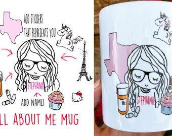 Mejor amigo de larga distancia café taza SET por SincerelyEunice