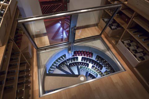 Spiral Wine Cellars: Wine, architecture and nature's perfect shapes - Busyboo