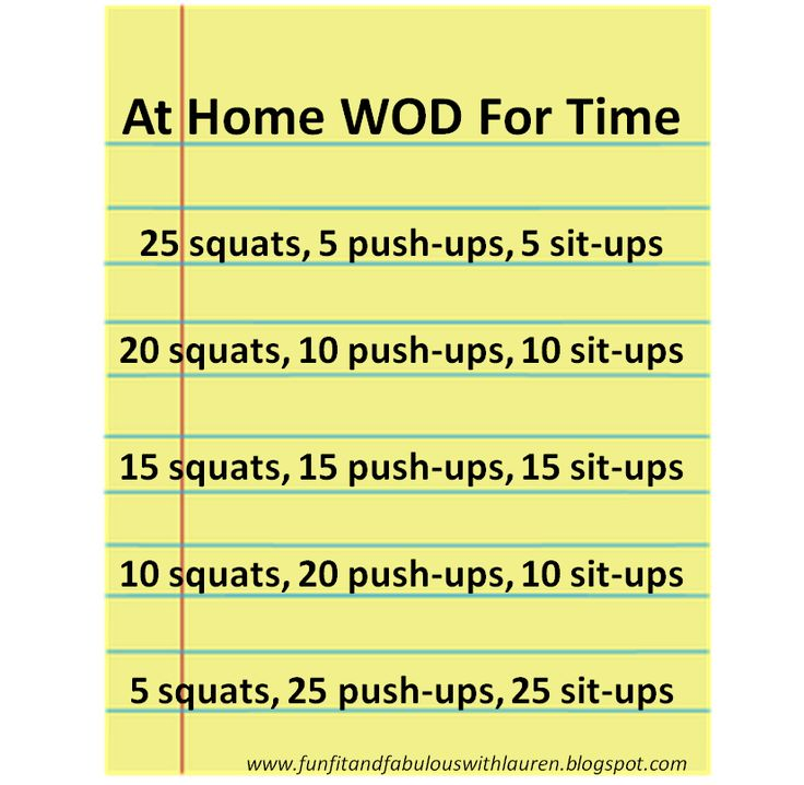 At home WOD