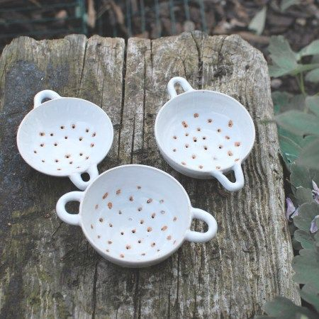 Tea Strainers or sugar sifters for baking.