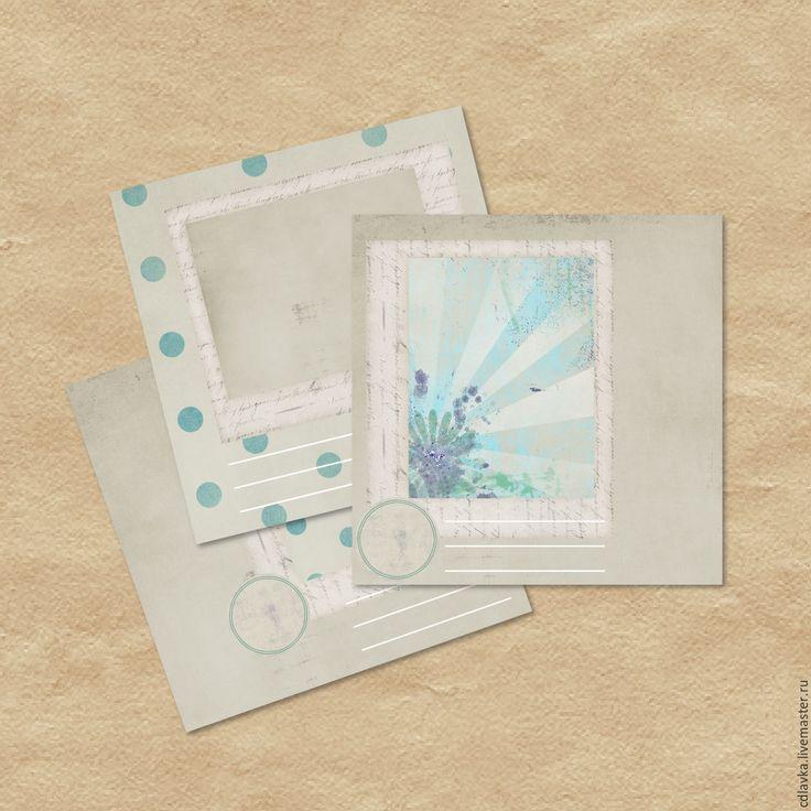 Купить Летний фотоальбом - комбинированный, фотоальбом, фотографии, хранение, блокнот, фанера, дерево, страницы, подарок