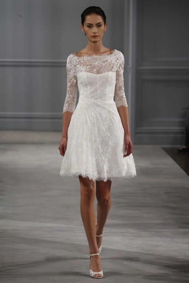 Monique Lhuillier Spring Bridal Collection 2014