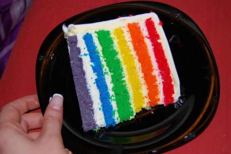 Ghemutza's Sweets: Tort Nunta Curcubeu