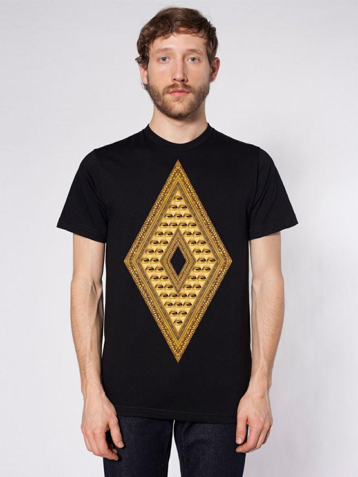 HMRT clothing  T-shirt design : Spectral eyes