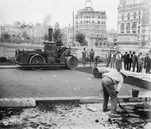 Plaça Catalunya 1927 - Barcelona
