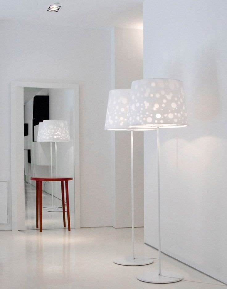 Floor standing lamp / contemporary / metal SHADOW LIGHT by Front Porro