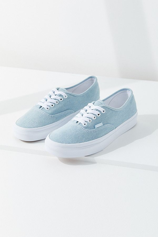afbdc7d50e5 Vans Authentic Denim Platform Sneaker