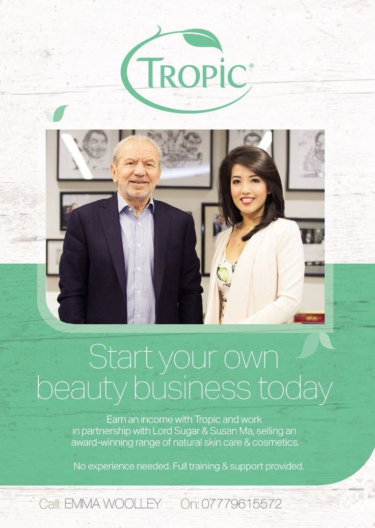 Tropic - 2015 Start Your Own Business A4
