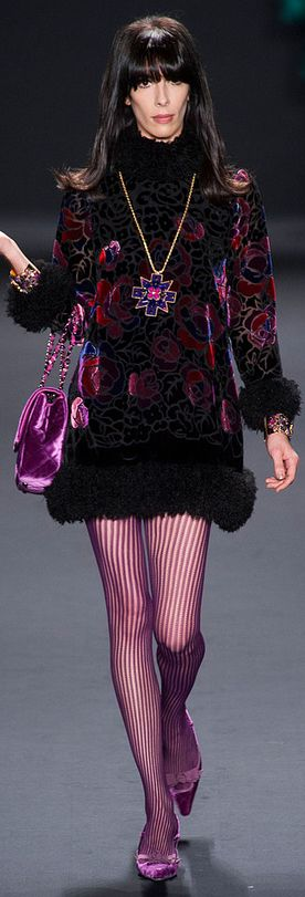 Anna Sui Fall 2013 - I like the colors.  Different type of dress though.