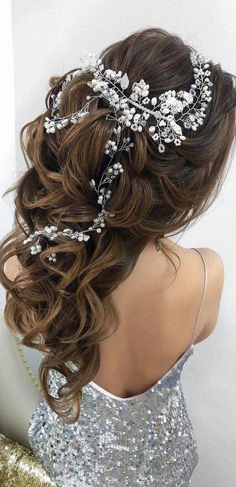 Super dulce peinados de boda pelo largo Colección De Tutoriales De Color De Pelo - 72 Mejores Peinados De Boda Para El Pelo Largo 2019   De ...