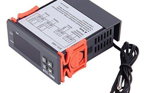 LESHP Thermostat Numerique 200-240V Chauffage et Climatisation Regulateur Temperature pour Frigo,Aquarium,Chauffe Eau Piscine Température…