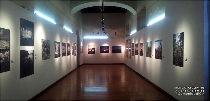 """Exposición :: Panoramas. Espacio y Territorio :: en la Galería de la Ciudad, Casa de la Cultura """"""""Víctor Sandoval."""