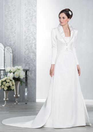 17 meilleures id es propos de robes de mari e en satin sur pinterest tendances de robes de. Black Bedroom Furniture Sets. Home Design Ideas