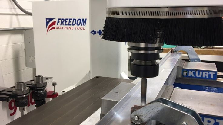 Custom Freedom Machine Tool set up for Friction stir welding