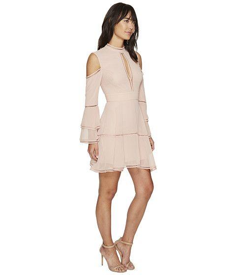 KEEPSAKE THE LABEL Night Dance Long Sleeve Mini Dress