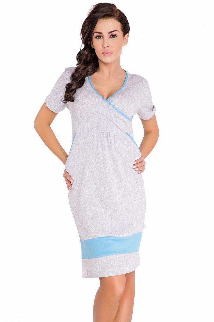 Dobranocka 3046 Maternity/Nursing Nightdress | | OtherEden.co.uk