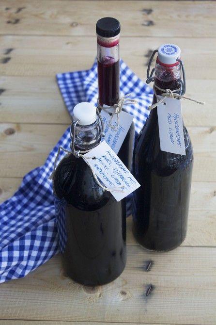 Elderberry juice // Hyldebærsaft