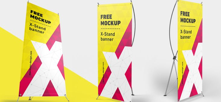 Mockups gratis / X-Baner