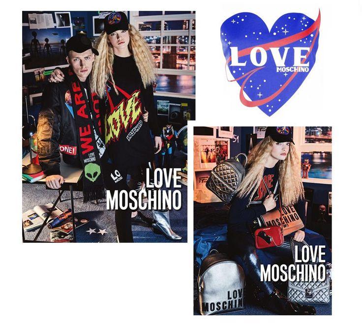 Kosmiczna kampania Love Moschino Jesień/Zima 2016