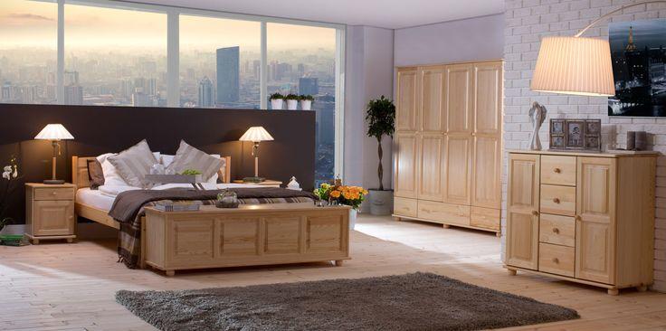 Borovicový nábytek Klasický přírodní borovice
