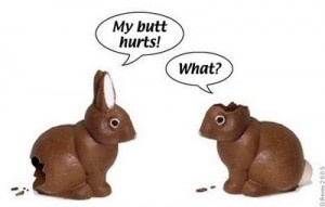 Fun-ny!: Make Me Laughing, Funny Bunnies, Jokes, Candy Gifts, Easter Bunnies, Funny Stuff, Humor, Happy Easter, Chocolates Bunnies