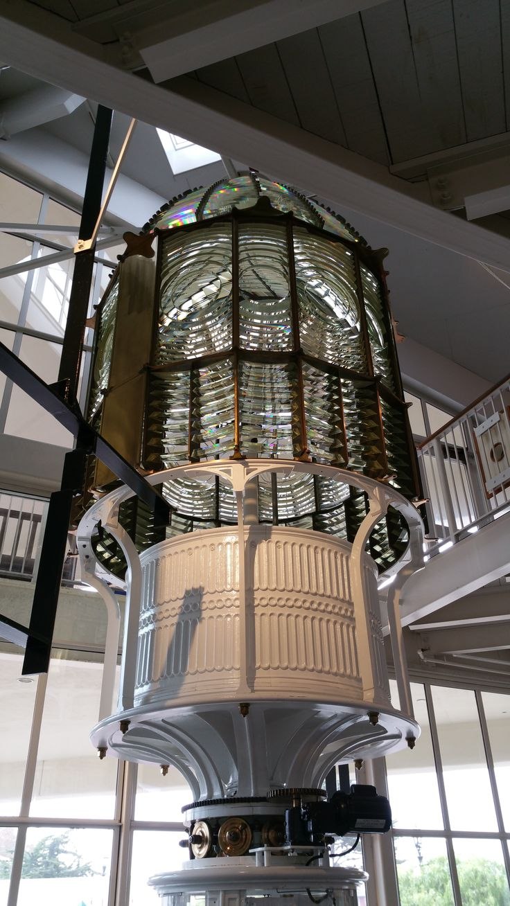 The Fresnel Lens Housed In The Monterey Museum On