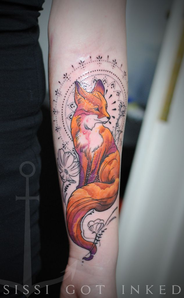 summersunset fox tattoo...