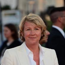Ariane Massenet lors de l'hommage à Cate Blanchett à Deauville, le 31 août 2013.