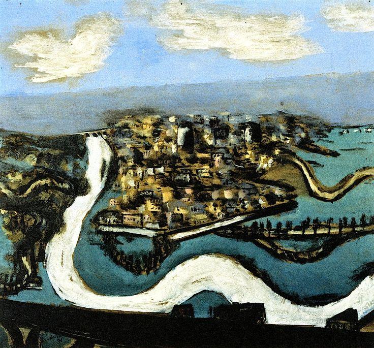 Landscape Saint-Germain Max Beckmann - 1930