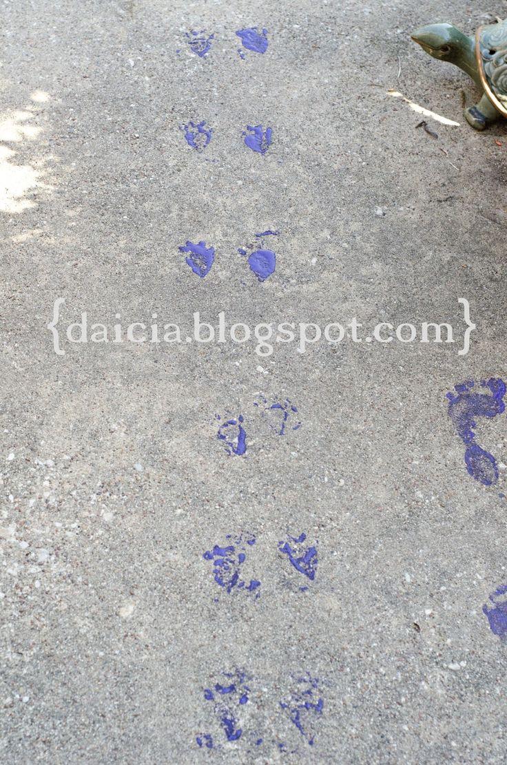 Teach Your Children Well: Rabbit Footprints