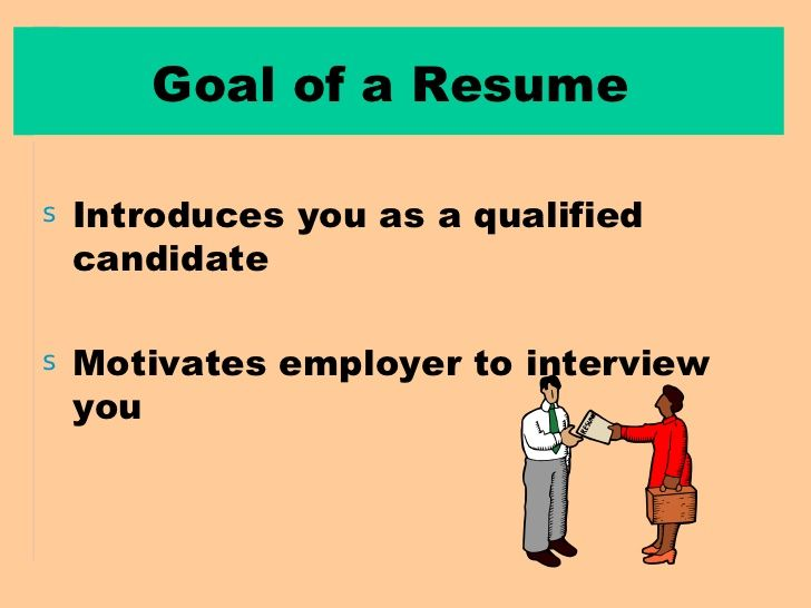 Do You Know The Goal OF A Well Written Resume. #Resume #ResumeGoal