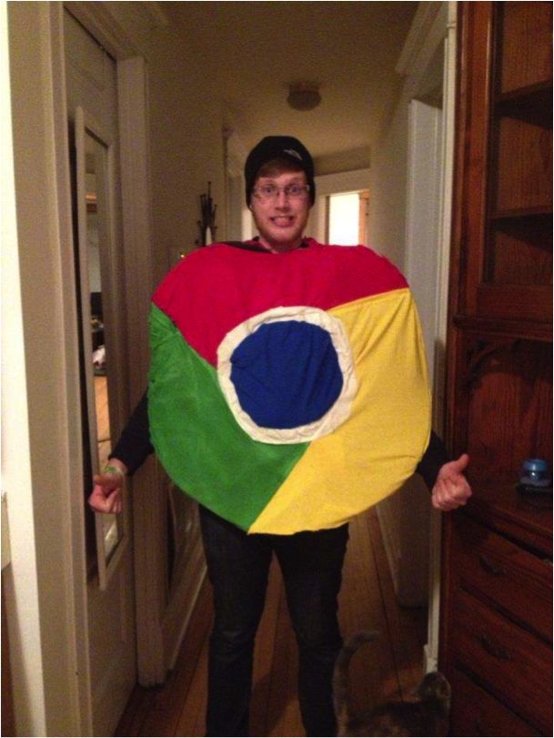 google chrome browser costume make google your homepage