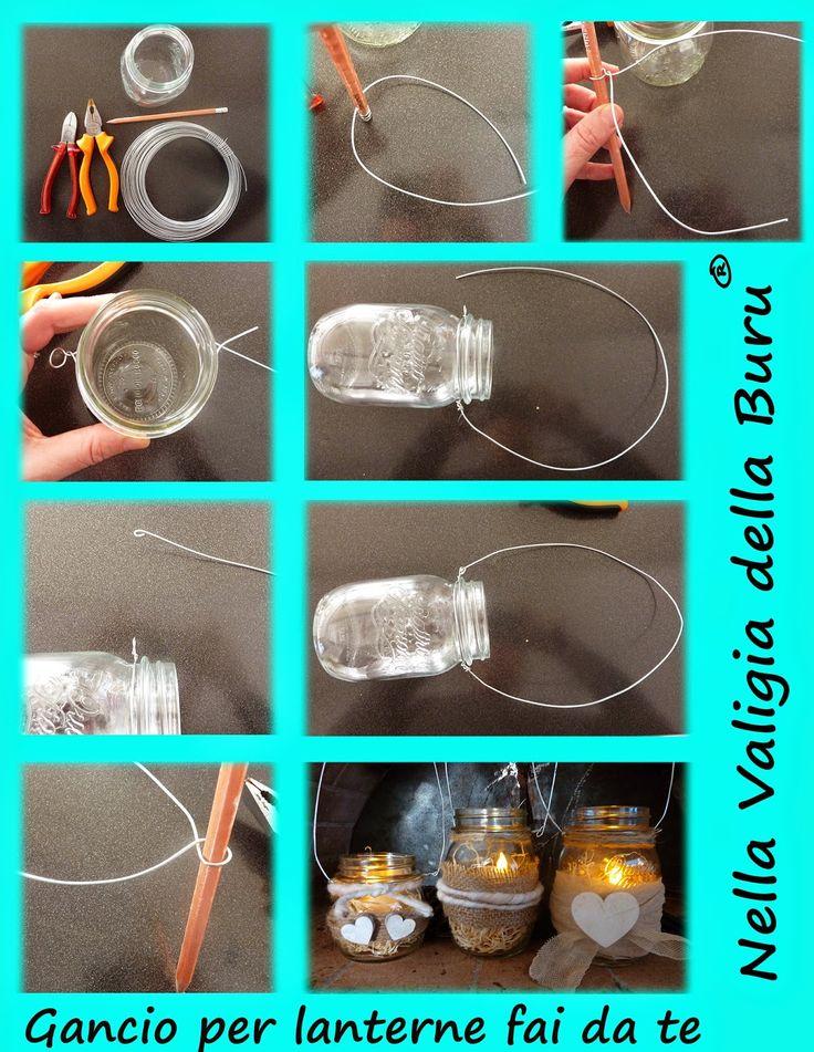 Nella valigia della Buru: Tutorial gancio per lanterne fai da te