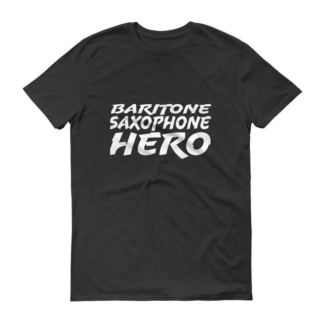 Fingers crossed but I'm hoping you'll love this: Baritone Saxophone Hero, Short sleeve t-shirt http://oompah.shop/products/baritone-saxophone-hero-short-sleeve-t-shirt